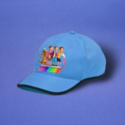 Cappi blau, Motiv _Toky_
